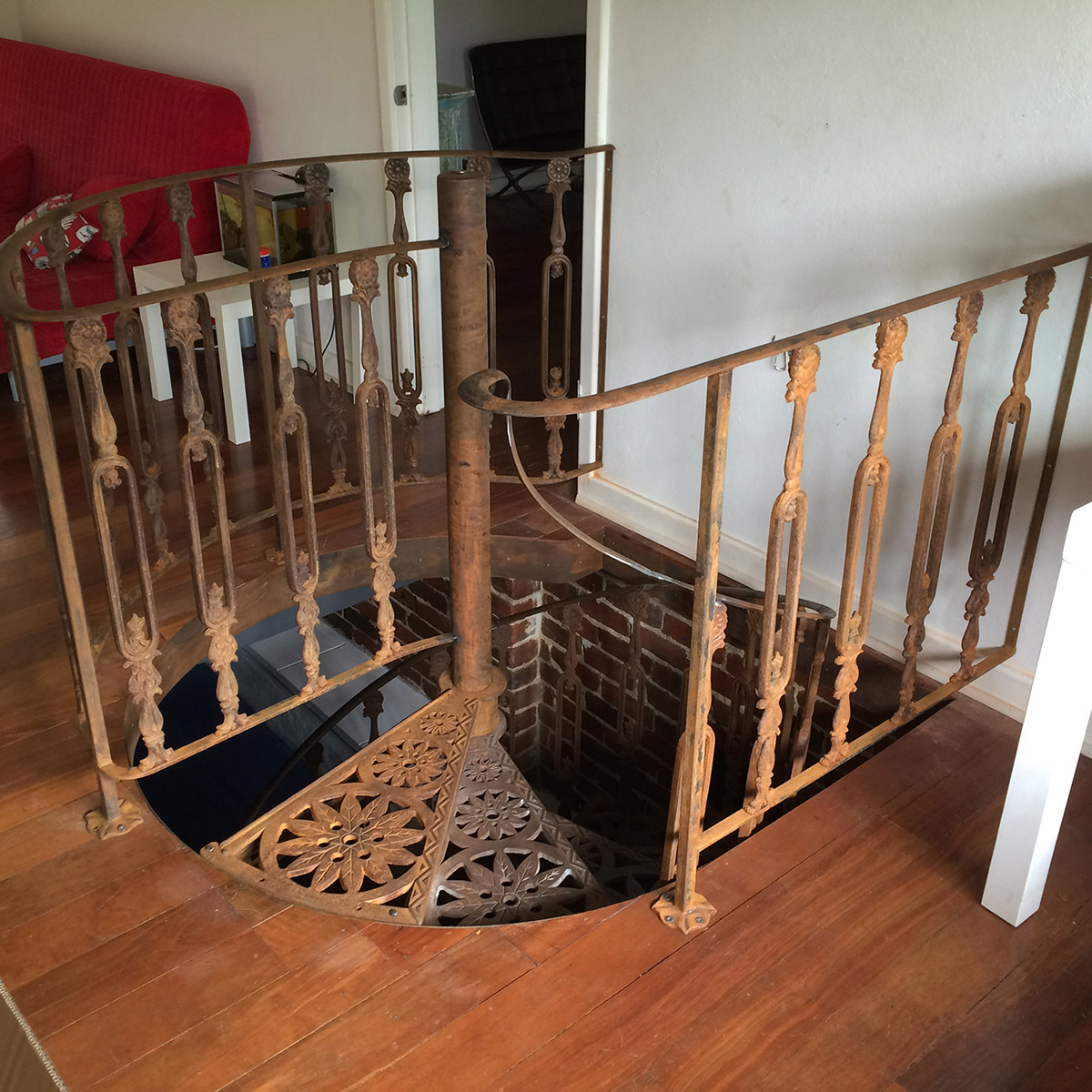 Ledger Spiral Stairs