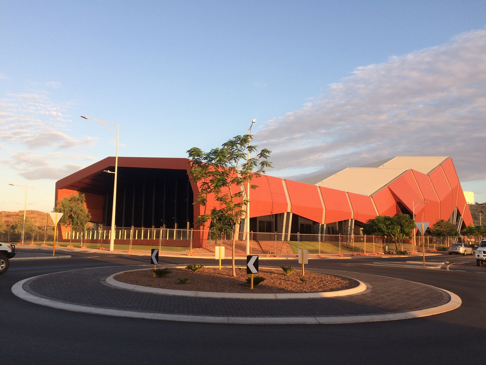 Red Earth Arts Precinct architecture