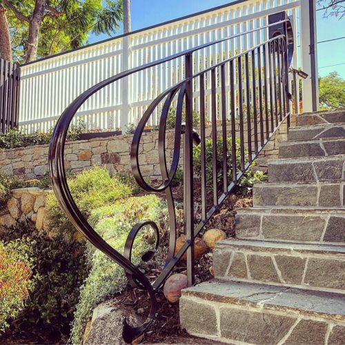 wrought iron balustrade brisbane