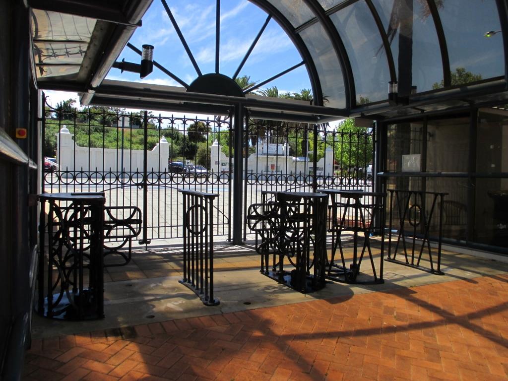 WACA turnstiles restoration